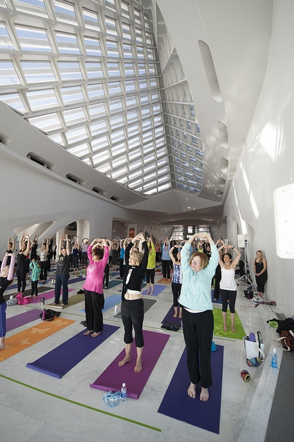 Yoga The Museum 3 29 12 By Milwaukee Art Via Flickr