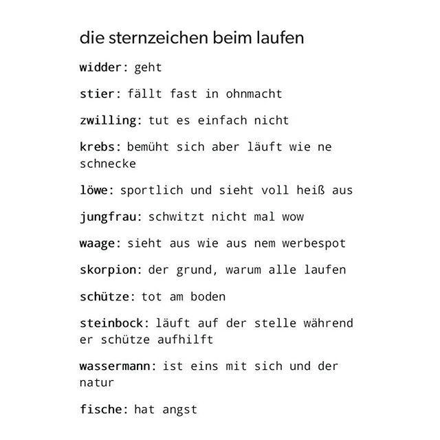 waage #löwe #zwilling #turnen #wassermann #fische #steinbock #lustig #schütze #schule #sternzeichen #widder #jungfrau #skorpion #joggen #horoskop #stier #laufen #unterricht #krebs