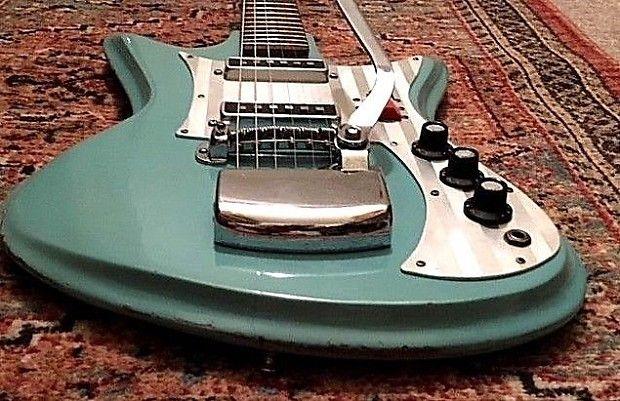 Mega Rare Teisco K 2l Et 230 Sharkfin 1960 S Custom Factory Reverb Vintage Electric Guitars Guitar Custom Guitars