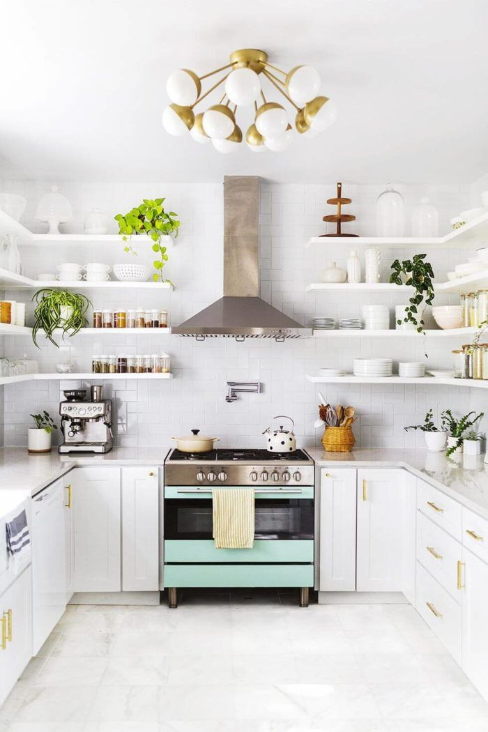 25 Great Small Kitchen Ideas That Can Inspire You Enthusiasthome Kitchen Decor Kitchen Design Small Kitchen Decor Modern