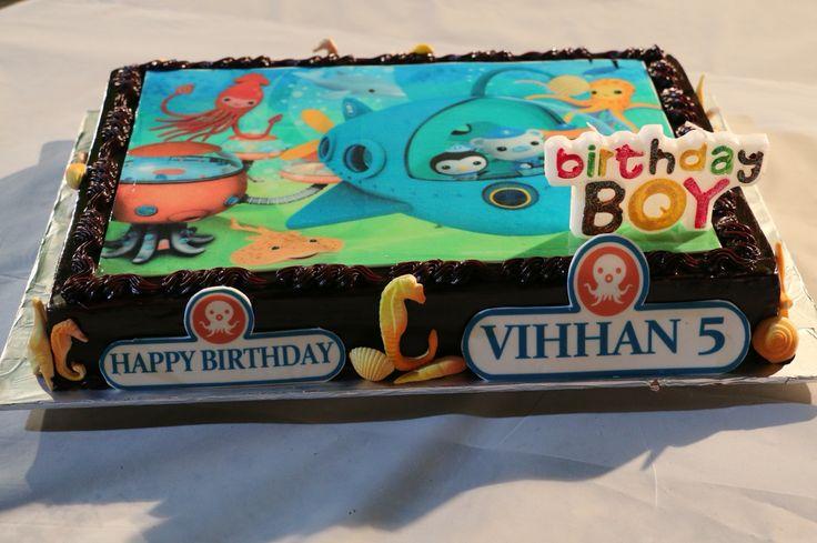 Birthday. Screen print cake