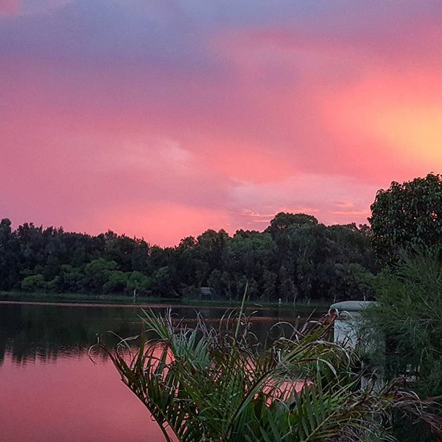 Such a beautiful #Sunset tonight over the lake. Hope it's beautiful wherever you are.