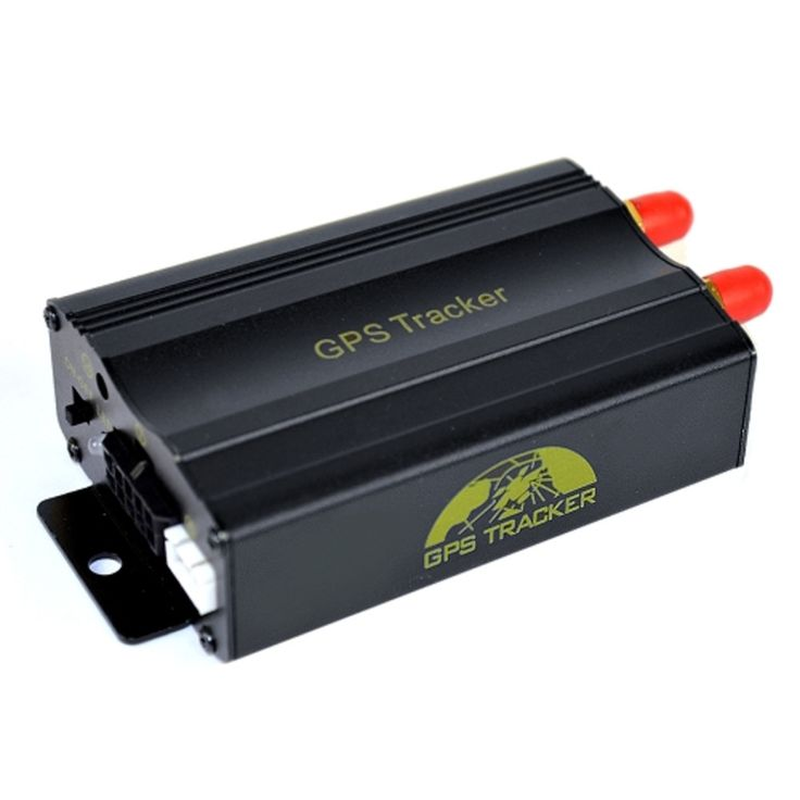WickedHD GPS-103A Real-Time GPS/SMS/GPRS Vehicle Tracking System w/GPS Antenna & Remote Access (Black)