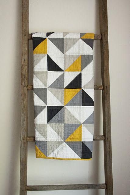 half square triangle LOVE! must make!!