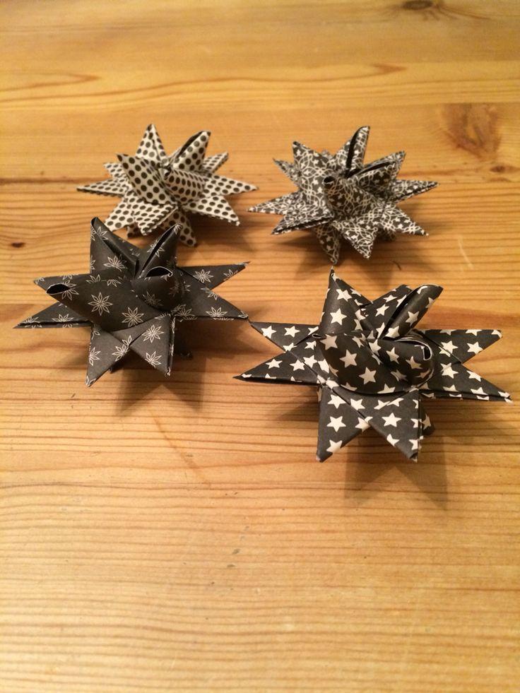 Christmas stars from Søstrene Grene