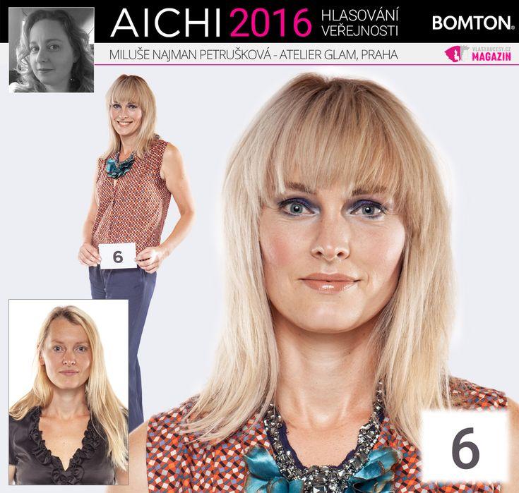 Finále AICHI 2016: Miluše Najman Petrušková - Atelier Glam, Praha