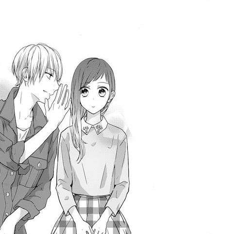 19 Best Images About Anime Couple Black And White On
