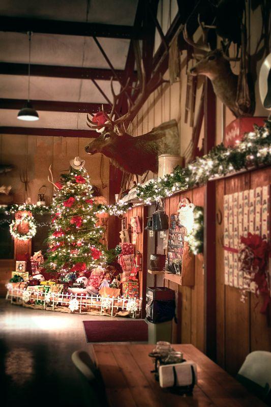 western christmas decor - Rainforest Islands Ferry - western christmas decorations