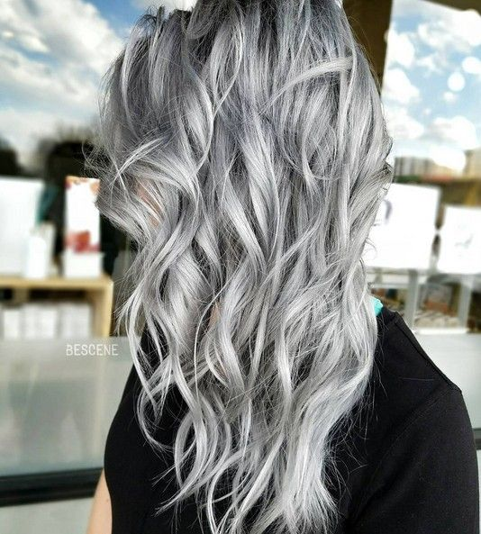 trendy gray hairstyles