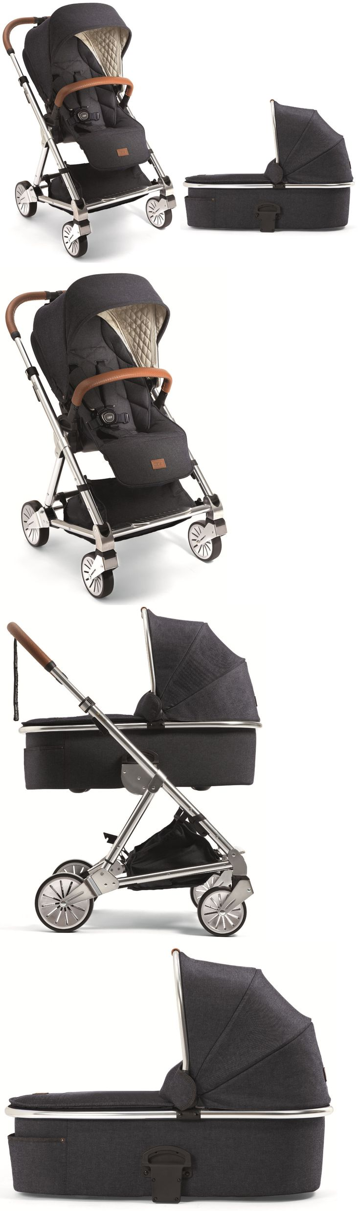 Other Baby Safety and Health 20436: Mamas And Papas Urbo 2 Compact Reversible Seat Baby Stroller W Bassinet Blue Denim -> BUY IT NOW ONLY: $759.99 on eBay!