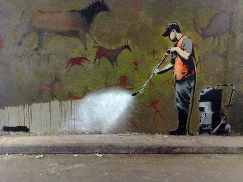 WTF Art History — Clean Up Cave Art
