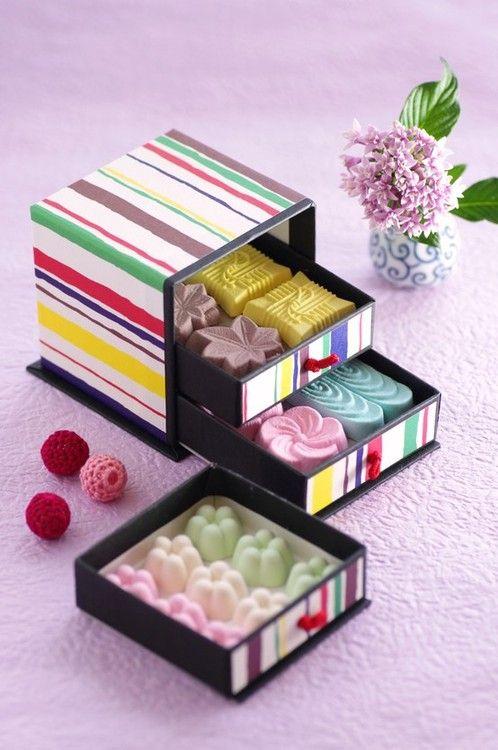 Wagashi, Japanese sweets.