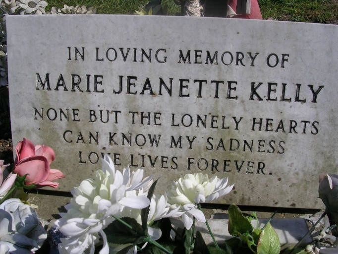 Marie Jeanette Kelly (Mary Kelly) - victim of Jack the Ripper