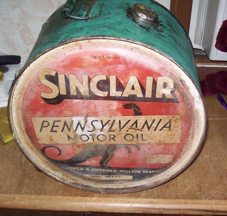 Details about 1936 Sinclair Gas & Oil Customer's Premium