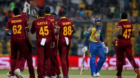Live Cricket Score, West Indies vs Sri Lanka, ICC World T20: Sri...: Live Cricket Score, West Indies vs Sri Lanka, ICC World… #CricketScore