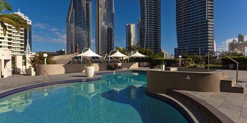 Hotel Grand Chancellor, Gold Coast, 4.5 stars.
