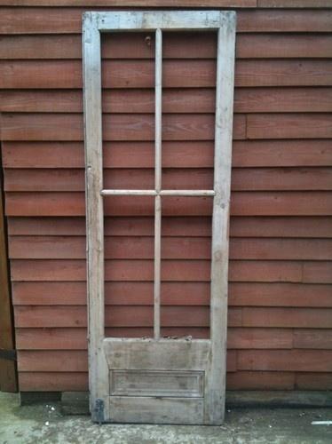 Reclaimed Edwardianglazed internal door