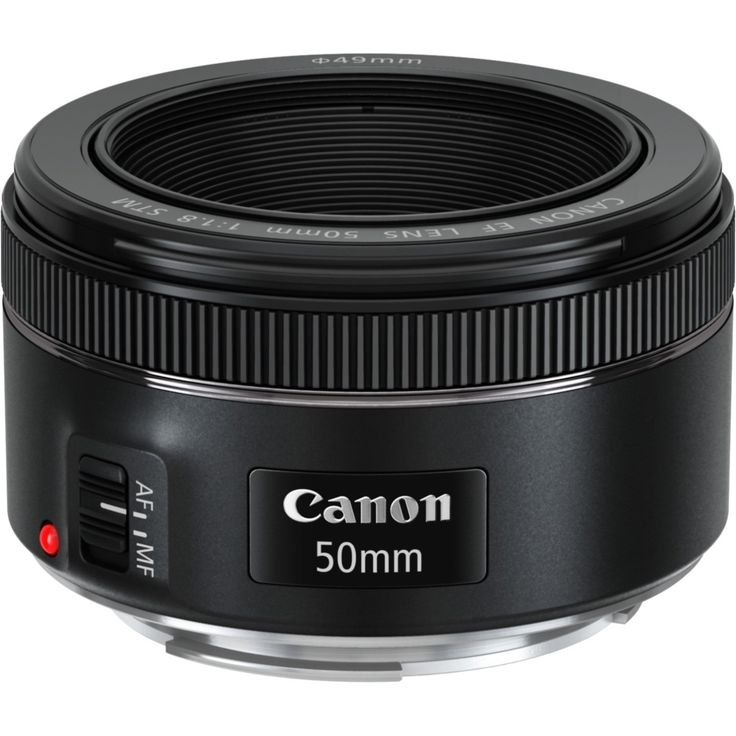 Canon - 50 mm - f/1.8 - Fixed Focal Length Lens for Canon EF - Designed for…                                                                                                                                                                                 More