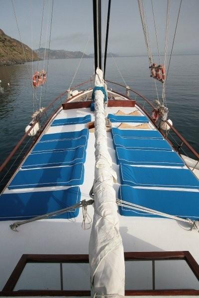 the spacious sun deck