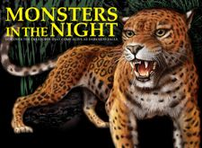 Monsters in the Night by Lisa Regan, Amber Books, featuring animals who are most active between dusk and dawn...