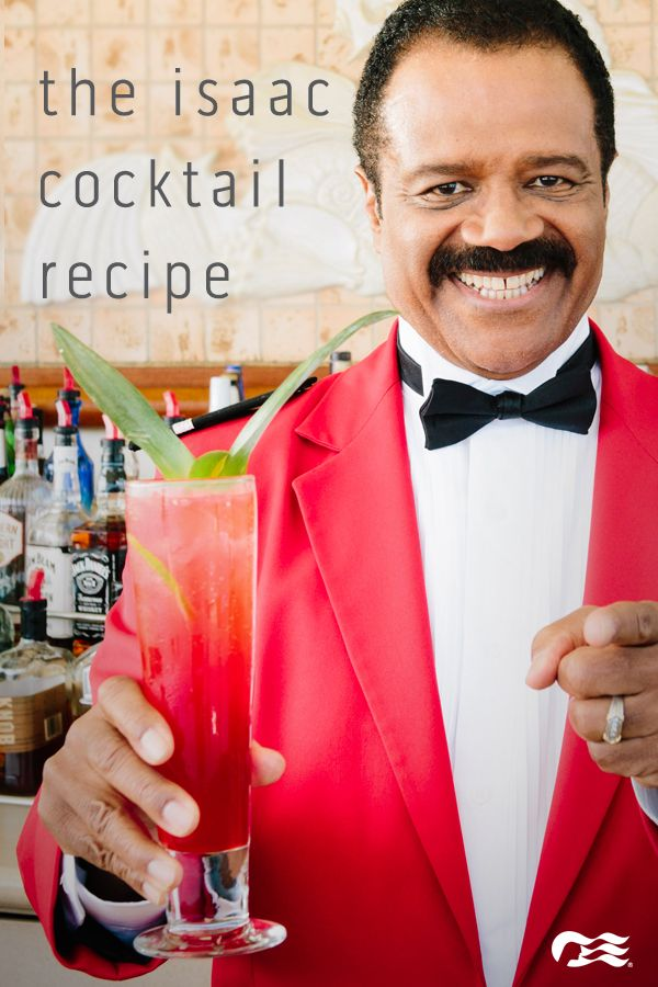 "Learn how to make ""The Isaac"" cocktail from Ted Lange, known for his role as…"