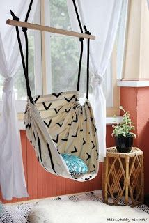 Tina's handicraft : how to make hanging chair for children