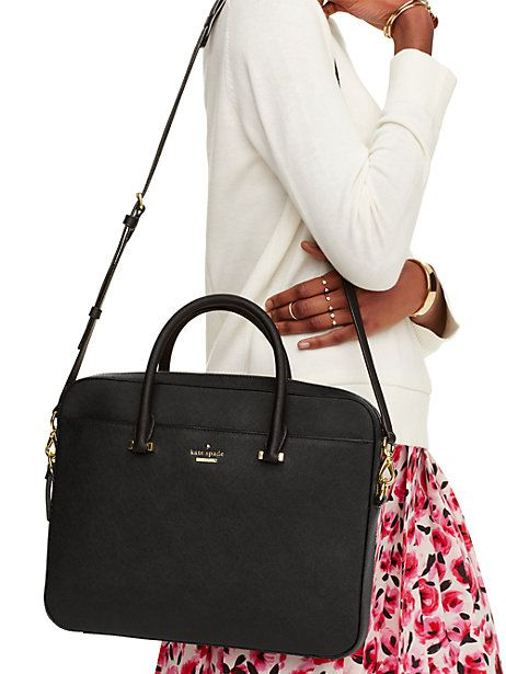 saffiano laptop bag - Kate Spade New York