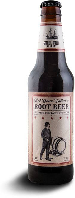 Not Your Father's Root Beer  Tasting Notes: Silky, smooth and satisfying finish is unmatched in flavor. It appeals to craft beer aficionados as well as those who don't typically drink beer but crave something unique.  At long last…it's here.