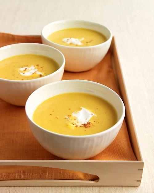 Butternut Bisque - Martha Stewart Recipes