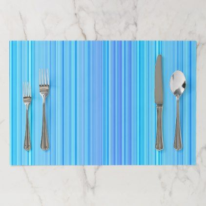 Stripe Striped Stripes Pattern Print Lines Paper Placemat - pattern sample design template diy cyo customize