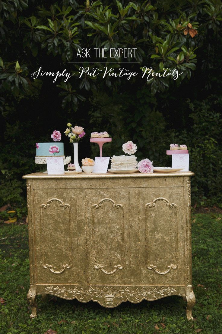Ask the Expert: Simply Put Vintage Rentals  Read more - http://www.stylemepretty.com/2013/08/23/ask-the-expert-simply-put-vintage-rentals/