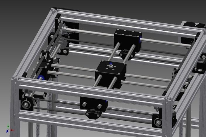 Ultimaker v3.0 - Autodesk Inventor, STL for 3D, Other, STEP / IGES - 3D CAD model - GrabCAD