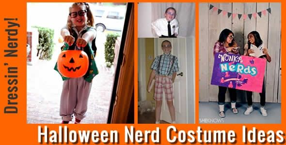 Need a Halloween Costume Idea? Be a NERD! Check out these Halloween Nerd Costume Ideas - http://www.digitalmomblog.com/blog/2012/10/23/halloween-nerd-costumes-ideas-for-girls-and-boys/
