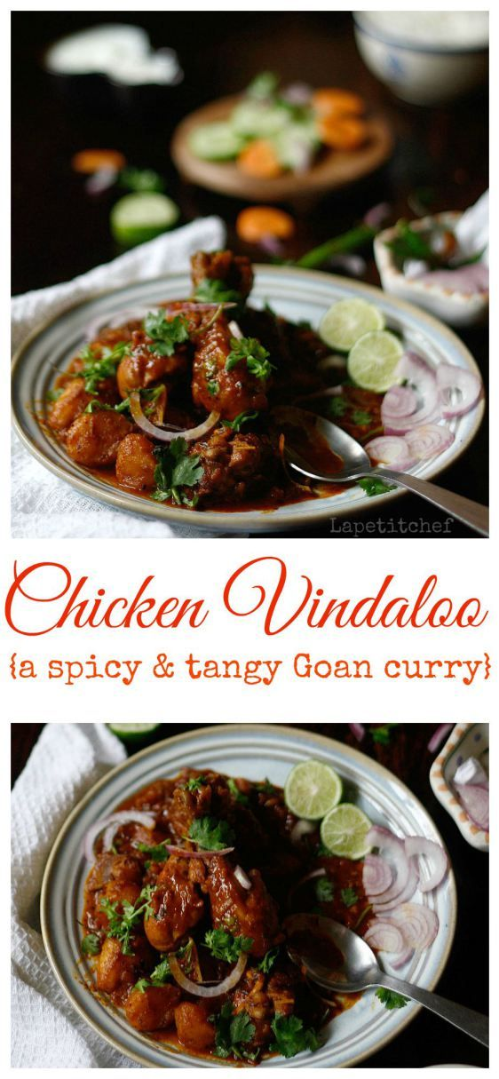 Chicken Vindaloo curry