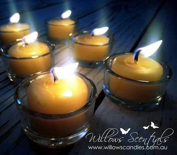 Willows Beewax Tealights www.willowscandles.com.au  #beeswaxcandles #tealightcandles ##beeswax #candles #tealights #honeycandles #candlesmelbourne #eco #ecocandles #homedecor