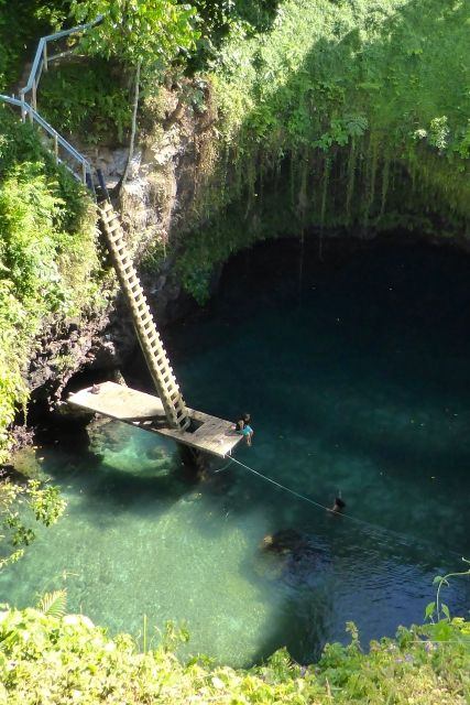 To Sua Ocean Trench in Samoa - incredible!