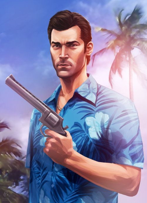Tommy Vercetti from GTA: Vice City