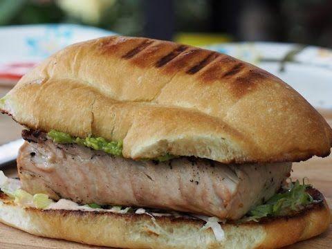 Grilled Baja Fish Sandwich Recipe!