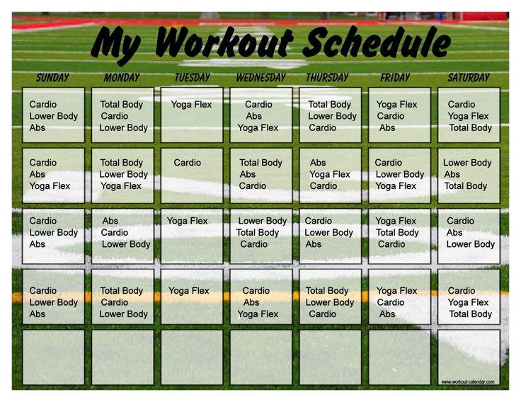 Field 10 Minute Trainer Calendar 30