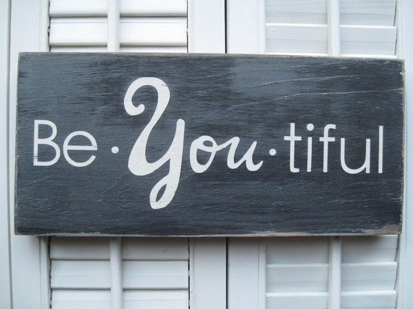 Be YOU tiful! Making this!
