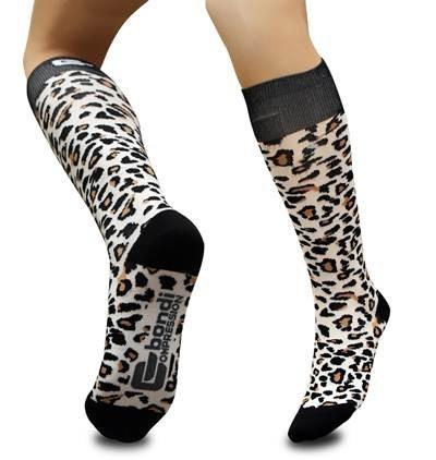 Bondi compression socks MUST HAVe. Leopard print! =)