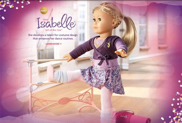 isabelle American girl doll of the year 2014
