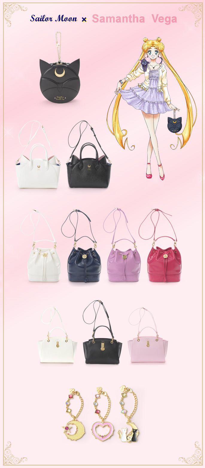 NEW Sailor Moon x Samantha Vega Collaboration!... - sailor moon collectibles