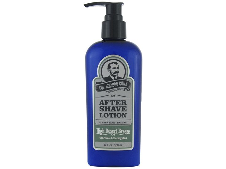 Colonel Conk High Desert Breeze Aftershave. Soothe your face after a shave while smelling like refreshing and calming tea tree and eucalyptus. Available at House of Knives.
