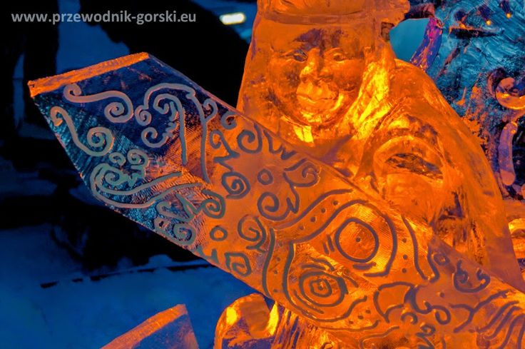 through geographer's eyes: Tatry Ice Master - ice sculpturing championships