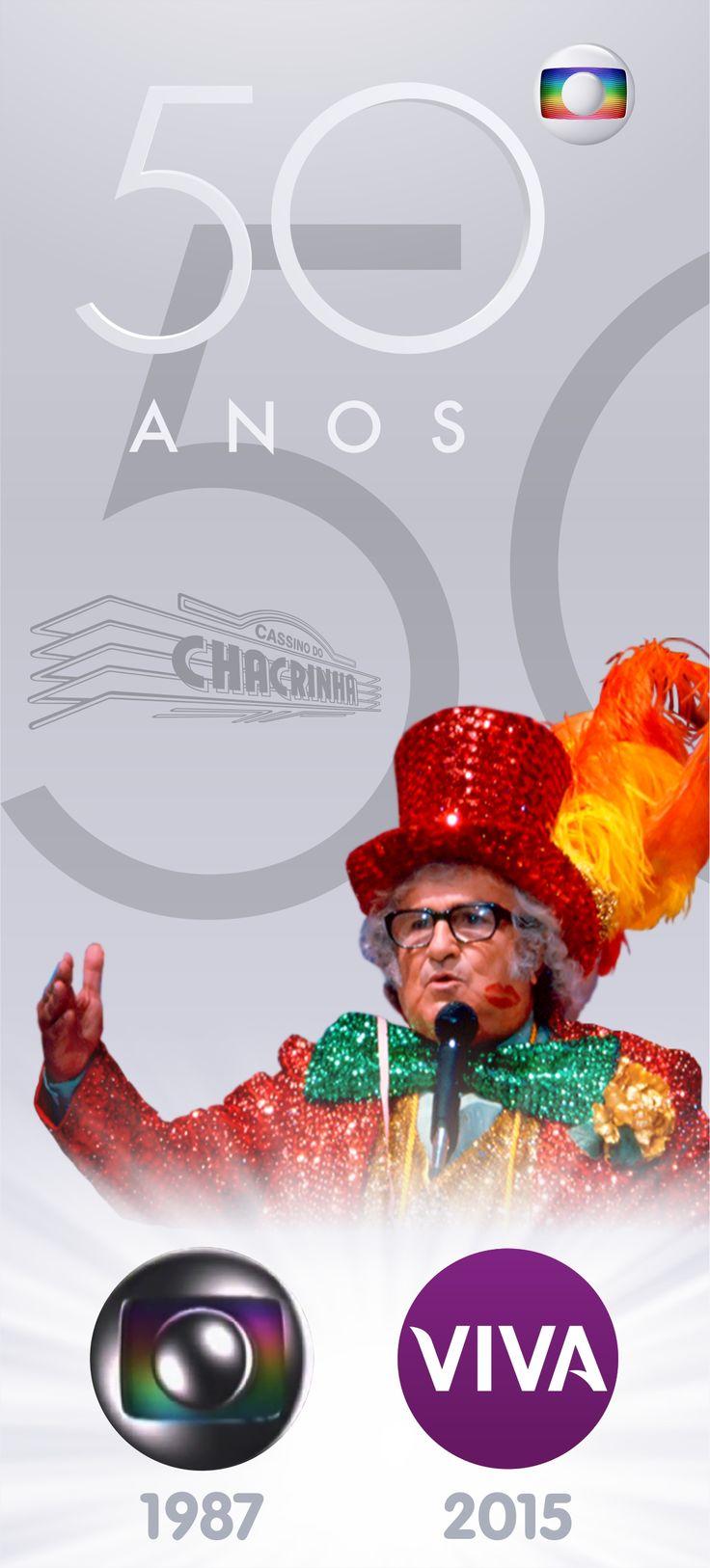 Cassino do Chacrinha - Globo 50 Anos - Canal Viva