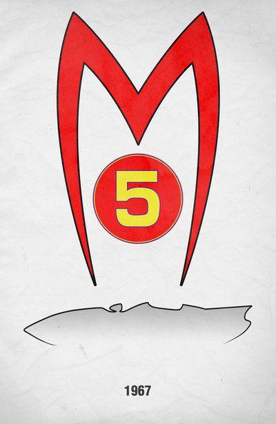 Movie Car Racing Posters - Mach 5 by ~Boomerjinks on deviantART