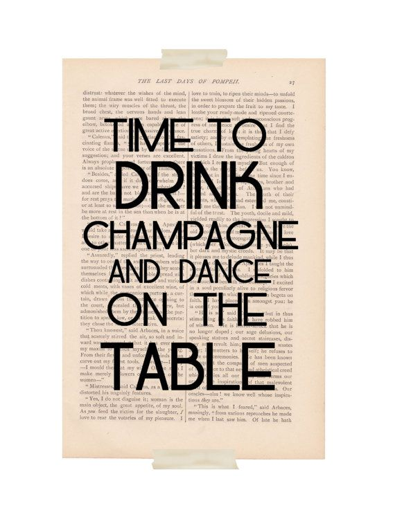 Champagne and Dancing!