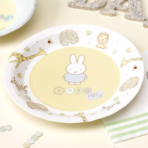 Party Ark's 'Baby Miffy Paper Plates'