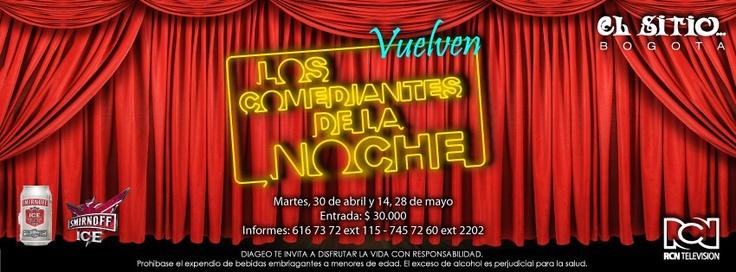 El mejor programa de humor, en el mejor bar de rumba en vivo de Bogotá. Los esperamos